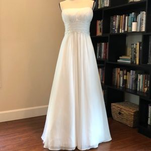 David Bridal Wedding Gown